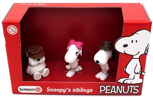 Schleich Snoopy Scenery Pack Snoopy's Siblings