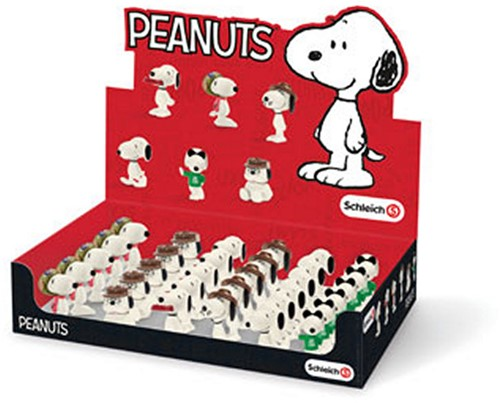 Schleich Peanuts - Snoopy & his siblings 6 assorti 32 stuks