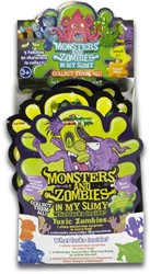 Blind Bag Monsters and Zombies Slimy met verzamelfiguur assorti in display