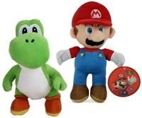 Pluche Mario 30cm en Joshi 27cm S3