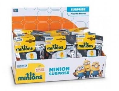 Minions Surprise verzamelfiguren in zakje assorti 30 stuks in display