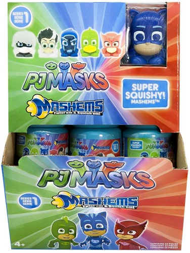 PJ Masks Mash'ems Super Squishy! in display (35) 4,5x5cm