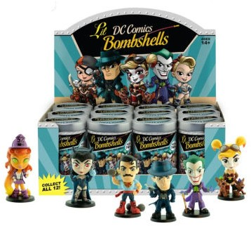DC Comics Lil Bombshells Mini Tin Serie 3 10cm