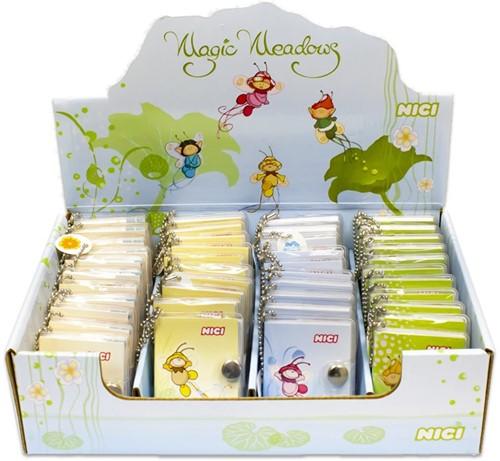 Nici Magic Meadows mini notitieblok Elfen assorti in display (48)