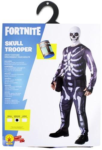 Rubies Kostuum Fortnite Skull Trooper Jumpsuit Medium