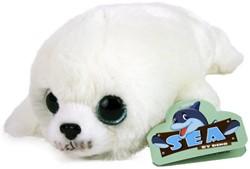 Pluche Zeehond met Glitter oog 22cm