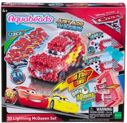 Disney Cars Aquabeads 3D Lightning McQeen Set 21x22cm