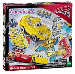 Disney Cars Aquabeads 3D Cruz Ramirez Set 21x22cm