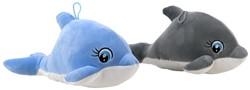 Pluche Dolfijn Supersoft 2 assorti 32cm