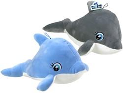 Pluche Dolfijn Supersoft 2 assorti 48cm
