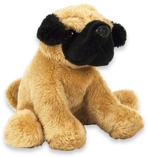 Pluche Hond Pug 15cm