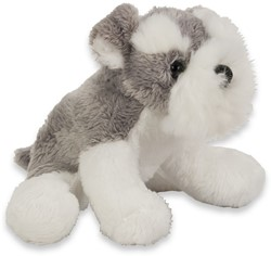 Pluche Hond Schnauzer 15cm