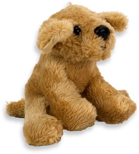 Pluche Hond Golden Retriever 10cm