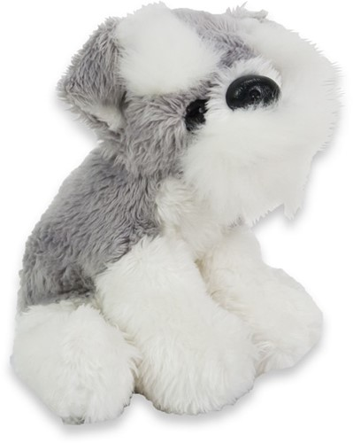 Pluche Hond Schnauzer 10cm