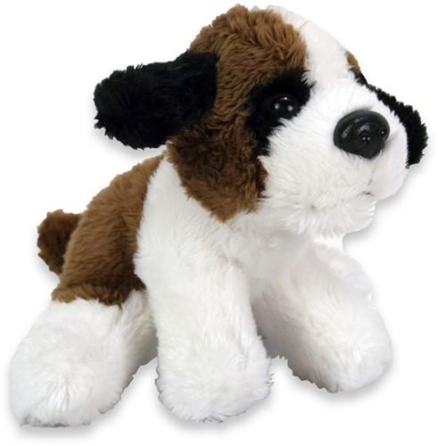 Pluche Hond Sint Bernard 10cm