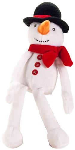 Pluche sneeuwpop 24cm