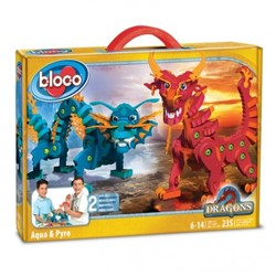 Bloco Dragons Aqua & Pyro 235 delig 30x41cm