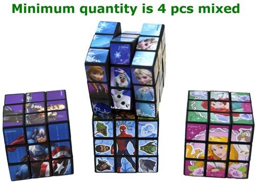 Magic Cubes 4 assorti 5x5cm