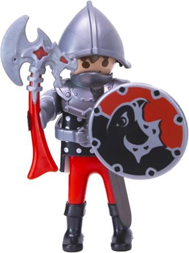 Playmobil Ridder met bijl en schild in zakje