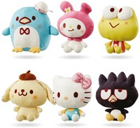 Sanrio Hello Kitty pluche Supersoft 6 assorti 20cm