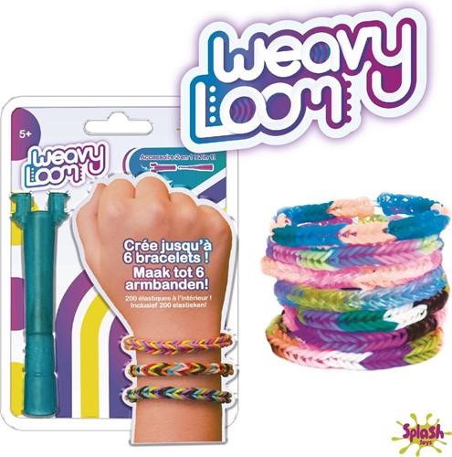 Weavy Loom Armbanden 2in1 accessoire + 200 elastieken 12x17cm