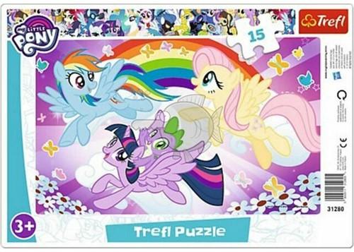 My Little Pony Raampuzzel 15 delig 23x33cm