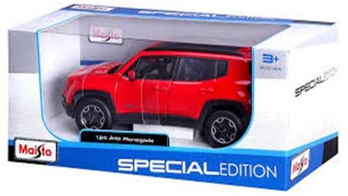 Maisto Spezial Edition 1:24 20cm Jeep Renegade