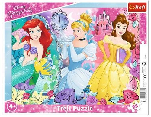 Disney Princess Raampuzzel 25 delig 29x37cm