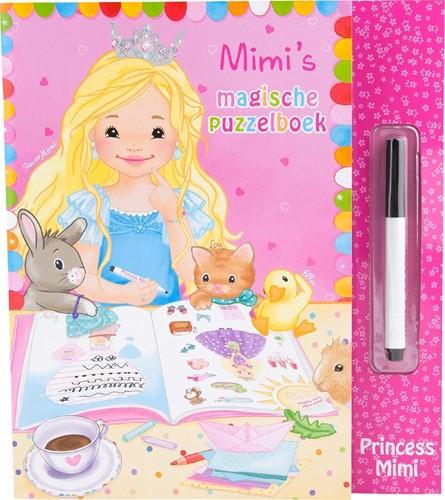 Princess Mimi's magisch puzzelboek wens en weg boek in display 26x28cm