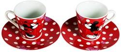 Minnie Mouse Serviesset (2 kopjes met sc