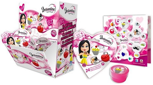 Briliantina Blindbag met ring Serie 2