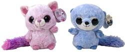 Yoohoo Pluche Roze Blauw 19cm