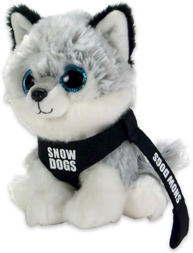 Pluche Husky Snowdog 15cm