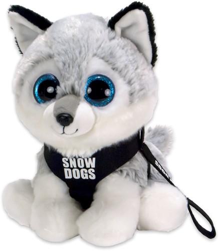 Pluche Husky Snowdog 20cm