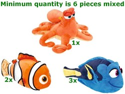 Finding Dory Pluche 3 assorti 30cm in display