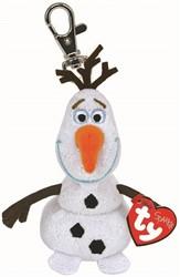 Disney Frozen Pluche Sleutelhanger Olaf  met geluid 8,5cm