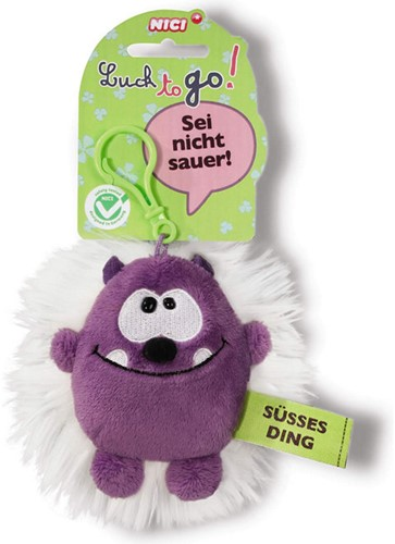 Nici Pluche Sleutelhanger Susses Ding 8cm