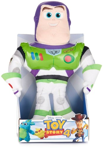 Disney Toy Story 4 Pluche Buzz Action 25cm