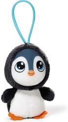 Nici Grinnies Pluche sleutelhanger Pinguin 8cm