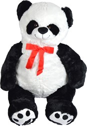 "Pluche Panda Pink Papaya ""Pan Tao"" 100cm"