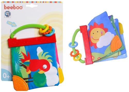 Beeboo Baby knisperboekje 2 assorti 19x25cm