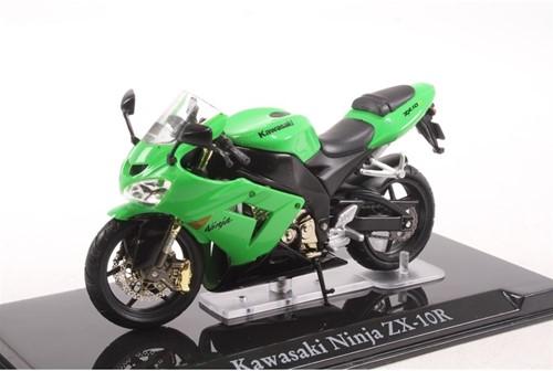 Motor schaalmodel 1:24 Kawasaki Ninja ZX-10R 6,5x12cm