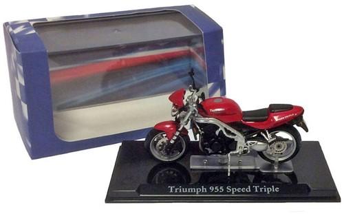 Motor schaalmodel 1:24 Triumph 955 Speed Triple 8x12cm-3