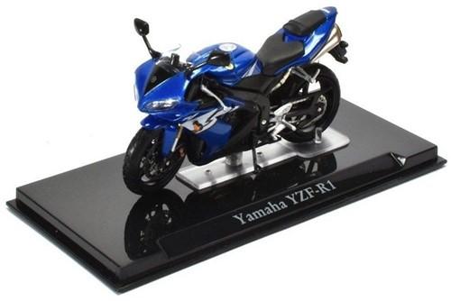 Motor schaalmodel 1:24 Yamaha YZF-R1 6,5x12cm