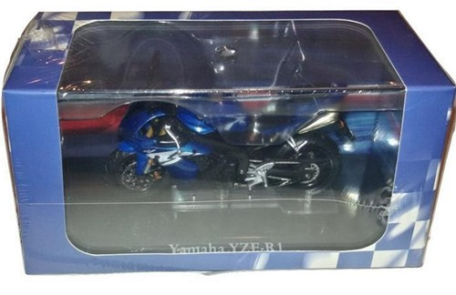 Motor schaalmodel 1:24 Yamaha YZF-R1 6,5x12cm-2