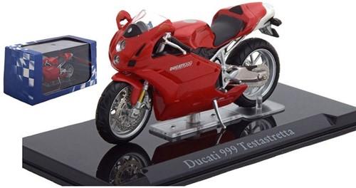 Motor schaalmodel 1:24 Ducati 999 Testastretta 6,5x12cm