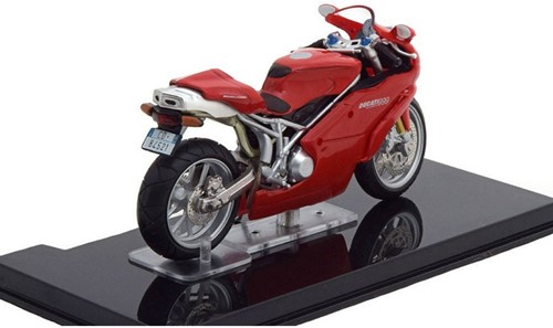 Motor schaalmodel 1:24 Ducati 999 Testastretta 6,5x12cm-2