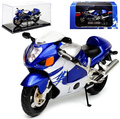 Motor schaalmodel 1:24 Suzuki GSX1300R Hayabusa 6,5x12cm