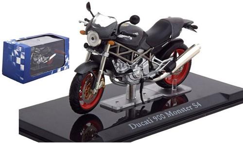 Motor schaalmodel 1:24 Ducati 900 Monster S4 6,5x12cm