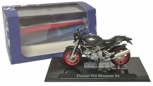 Motor schaalmodel 1:24 Ducati 900 Monster S4 6,5x12cm-3